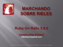 MarchandoSobreRieles