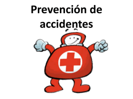 Prevención de accidentes.