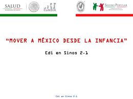 Edi en Sinos 2.1 - Hospital Infantil de México Federico Gómez