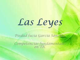LAS LEYES - Over-blog