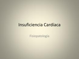 insuficencia cardiaca fisiopatología copia