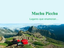 Machu Picchu - tutorlinguecapponi