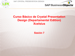 Crystal Presentation Design Sesion 7