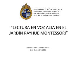 Presentación Seminario - Portafolio Práctica Profesional