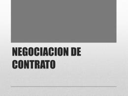 NEGOCIACION DE CONTRATO - admon-rec-fi