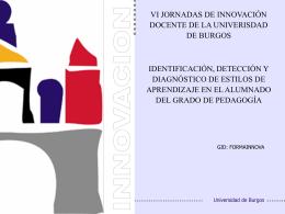 identificación, detección y diagnóstico de estilos de aprendizaje en