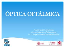 3ra Clase taller BV 2014 ONCE óptica oftalmica