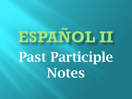 EspaÑol II - srtalloyd