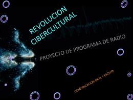 REVOLUCION - ciberculturaescom