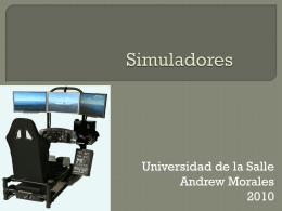 Simuladores - Ulasallemaestria
