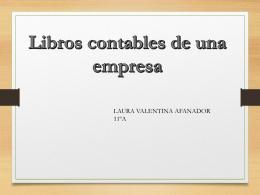 1P EMPRENDIMIENTO 11 libros contables LAURA - La