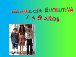 Psicología evolutiva 7-9 años.