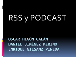 RSS_PODCAST - csc