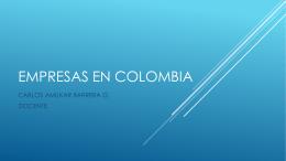 tema 1 empresas en colombia - Riu