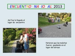 Fotografias del Encuentro en Chile
