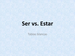 ser vs estar whiteboards