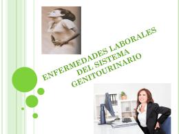 enfermedades laborales del sistema genitourinario