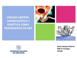 Dr. Darío Vázquez - Cirugía abierta
