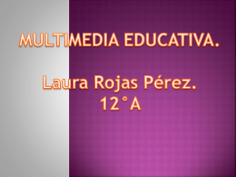 Multimedia Educativa.