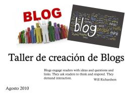 TallerBlogs
