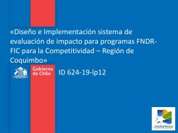 Presentacion Coquimbo Ev FNDR_FIC