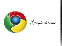 Que es Google Chrome
