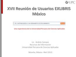 Lanzamiento DELFOS Repositorio Institucional