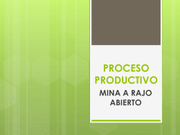 Proceso Productivo - PPT