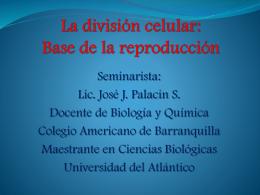 La División Celular - Evoluciontransformacion