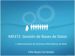 Diseñar bases de datos