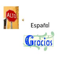 Español - jpeters10