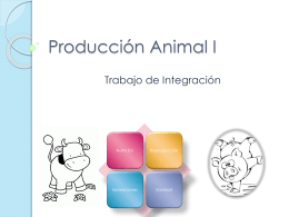 Producción Animal I