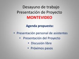 Proyecto *PROPUESTAS PARA LA GOBERNABILIDAD