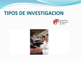 Tipos de investigacion_ RichardPerfecto