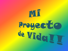 Mi Proyecto de Vida!! - wiki