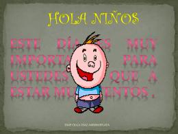 HOLA NIÑOS
