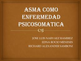 ASMA COMO ENFERMEDAD PSICOSOMATICA