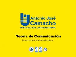 Guia – Teoría de Comunicación