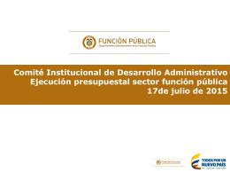 Presentación de PowerPoint - Departamento Administrativo de la