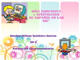 GUIA TICS - sandramileaquinterogarcia