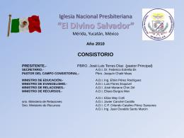 consistorio - Paginas Prodigy