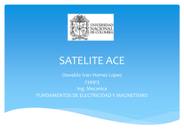 SATELITE ACE IVAN HOMEZ
