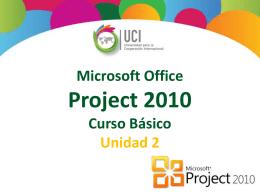 Microsoft Project 2010 Dependencia entre Tareas del Proyecto