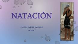 Natación-Fabiola 2015