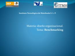 benchmarking - aprendizaje-organizacional