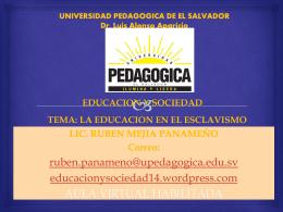 TEMA: EDUCACIÓN Y SOCIEDAD: CONCEPTOS