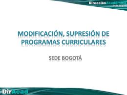 presentación - Sede Bogotá UN - Universidad Nacional de Colombia
