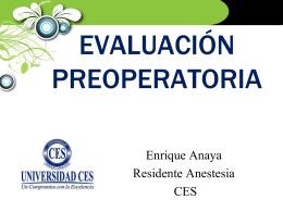 modelos de evaluacion preoperatoria