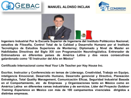 Ing. Manuel Alonso Inclán