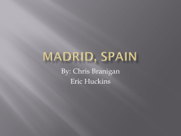 Madrid, Spain - Chris-Branigan